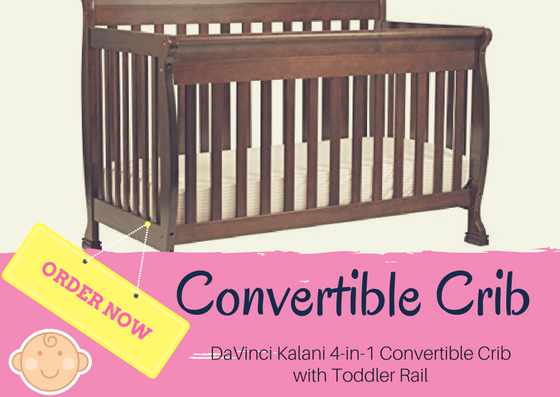 DaVinci Kalani 4-in-1 Convertible Crib Review
